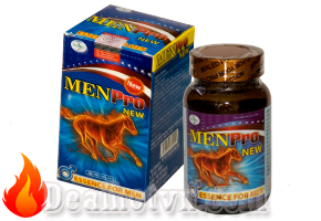 Menpro New giúp bồi bổ nguyên khí, bổ thận tráng dương, tăng cường chức năng sinh lý nam giới, mạnh gân cốt. Đặc biệt sản phẩm hỗ trợ kéo dài thời gian đỉnh cao sinh lý nam hiệu quả. Giá 280.000đ