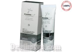 Kem làm trắng da chuyên sâu dành cho da mặt Pharmacos  hàng nhập khẩu từ Nga là sự lựa chọn an toàn và phù hợp nhất mang đến một làn da trắng sáng, khỏe mạnh. Giá 110.000đ