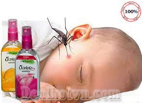 Xịt Chống Muỗi Soffell 80ml hàng nhập khẩu từ Thái Lan là loại thuốc chống muỗi dưới dạng xịt có tác dụng chống muỗi khá hữu hiệu, tiện dụng khi đi du lịch, công tác xa. Giá 37.000đ