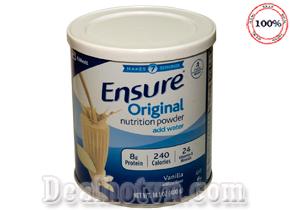 Sữa Bột Ensure Nutrition Powder 400g - Abbott Hoa Kỳ Cung Cấp 24 Loại Vitamin Và Khoáng Chất Thiết Yếu Bổ Sung Giữa Các Bữa Ăn. Chỉ 310.000đ cho sản phẩm trị giá 390.000đ