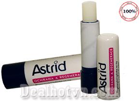 Son dưỡng trị khô nứt môi mỡ hươu Astrid