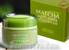 Mặt nạ bùn Laikou Matcha Mud mask