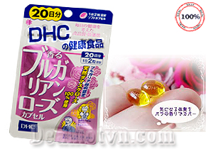 Viên uống thơm cơ thể hàng nhập từ Nhật với thành phần tinh dầu hoa hồng thiên nhiên giàu axit amin, vitamin tác dụng cân bằng nội tiết, tạo mùi thơm nhẹ, dễ chịu sau 2-3 giờ sử dụng. Giá 270.000đ