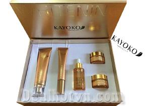 Bộ mỹ phẩm trị nám tàn nhang Kayoko Vàng 5 in1 - Nhật Bản
