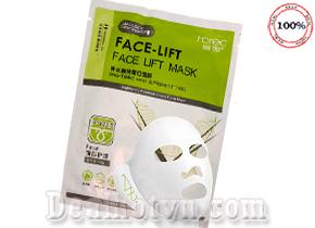 Face Lift Brightening Mask là loại mặt nạ tích hợp 2 trong 1: vừa dưỡng da, vừa giúp định hình và làm tiêu mỡ vùng mặt, giúp gương mặt thon gọn, nhỏ nhắn.Giá 15.000đ