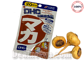 Viên uống Maca DHC 20 ngày nội địa Nhật Bản – Giúp tăng cường chức năng sinh lý nam nữ, làm đẹp da, giảm lão hóa. Giá 260.000đ