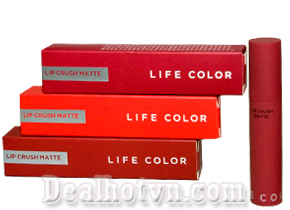 Son kem It's Skin Life Color Lip Crush Matte - Hàn Quốc