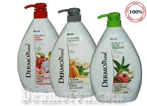 Sữa tắm dưỡng da Dermomed Bath & Shower Gel 1000ml hàng nhập từ Ý - Làm sạch, loại bỏ tế bào chết, dưỡng mịn và sáng da, an toàn cho da nhạy cảm. Giá 149.000đ