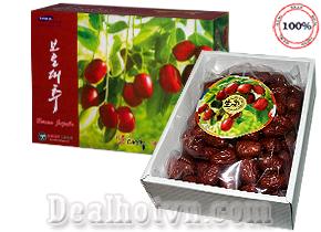 Táo đỏ sấy khô Hàn Quốc 1kg – Nhập khẩu từ Korea ngon và bổ dưỡng, cần thiết cho thai phụ. Giá 215.000đ