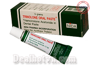 Thuốc trị nhiệt miệng Trinolone Oral Paste - Thái