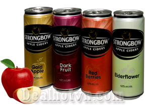 Nước táo lên men Apple Ciders Strongbow
