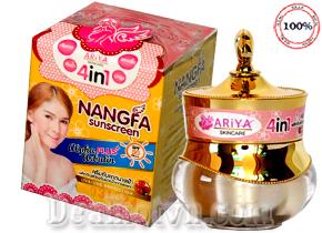 Kem NANGFA Sunscreen Dưỡng Trắng Da Chống Nắng Che Khuyết Điểm SPF 50 PA+++ hàng chính hãng Thái Lan. Giá 125.000đ