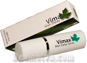 Chai Xịt Chống Xuất Tinh Sớm Vimax  100% Thảo Dược Thiên Nhiên Từ Canada