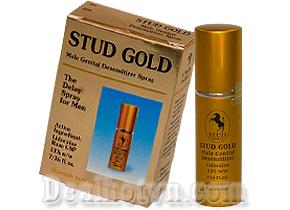 Stud Gold chai xịt chống xuất tinh sớm khắc phục tình trạng sinh lý hiệu quả. Giá 320.000đ