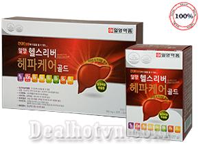 Viên uống giải độc Gan Health Liver Hepa Care Gold – chính hãng Hàn Quốc có tác dụng tăng cường chức năng gan, thanh nhiệt giải độc cơ thể, chống ngộ độc rượu bia. Giá 250.000đ