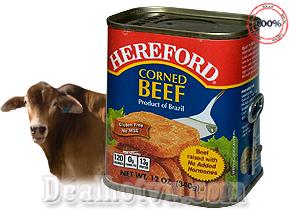 Thịt bò nướng với sốt thịt Hereford (340g/ hộp)