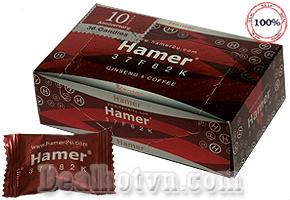 Kẹo sâm Hamer hàng nhập chính hãng Malaisia giúp tăng cường khả năng sinh lý, tăng ham muốn tình dục cho cả nam và nữ, giúp tăng sức đề kháng cho cơ thể, giúp cơ thể tỉnh táo trong công việc… Giá 90.000đ/viên.