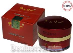 Cho da trắng hồng, tạm biệt mụn, nám, tàn nhang…với kem Hoa Anh Đào chính hãng Nhật Bản với 10 tác dụng. Giảm giá còn 110.000đ.