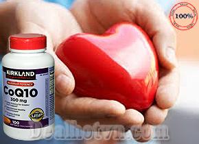 Viên uống Kirkland – hàng chính hãng Mỹ có hàm lượng CoQ10 300mg, chiết xuất từ tự nhiên công dụng hỗ trợ tích cực cho các hoạt động của tim, bảo vệ và duy trì sức khỏe tim mạch. Giá 570.000đ