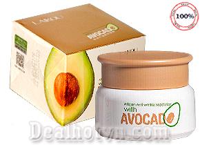 Mặt Nạ dưỡng trắng da Tinh Chất Trái Bơ Avocado Laikou