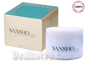 Kem dưỡng da ban đêm SANSHO ( Skin Luxury Cream ) chính hãng Nhật là sự lựa chọn tuyệt vời cho chu trình chăm sóc da ban đêm. Với tinh chất phục hồi & trẻ hoá da chuyên sâu vô cùng hiệu quả sau 1 tuần sử dụng. Gía 1.300.000đ