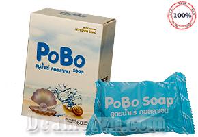 Xà bông trắng da PoBo Soap -Thái Lan