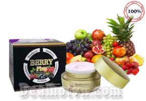 Kem trị nám Berry Plus Extra Whitening Cream Thái Lan trị tàn nhang loại bỏ các đốm đen, ngăn chặn hình thành, điều trị mụn làn da trở nên khoẻ mạnh và trắng sáng. Giá 165.000đ