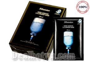 Mặt nạ cấp nước cấp tốc dưỡng trắng dưỡng ẩm JM SOLUTION - Hàn Quốc hộp 10 gói