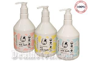 Sữa tắm con bò Watsons Milk Bath 450ml là sản phẩm của Thái Lan rất nổi tiếng với công dụng giúp da da mềm mại và thơm mát sau khi tắm. Giá 110.000đ/chai.
