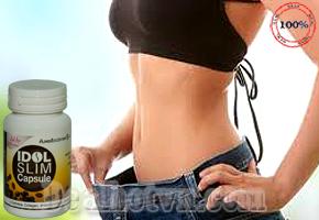 Viên uống giảm cân Idol Slim Capsule chính hãng Thái Lan giúp hỗ trợ giảm cân mạnh. Mẫu mới thay thế dạng gói bột, sử dụng êm, không còn gây phản ứng phụ như đau đầu, mất ngủ. Ngoài ra mẫu mới có thêm thành phần hỗ trợ đẹp da, khi giảm cân nhiều da vẫn căng đẹp. Giá 170.000đ