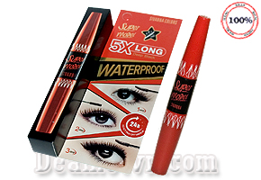 Mascara Nối Mi 2 Đầu Sivanna Colors Super Model 5X Long - Thái Lan