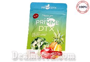 Giải độc giảm cân DETOX PRIMME Thái Lan thực phẩm detox giảm mỡ thiên nhiên, được bổ sung từ rau củ. giúp lần da sáng hơn. Giá 170.000đ/gói 60 viên.