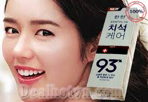 Kem đánh răng Median Dental IQ 93% Hàn Quốc là một trong những kem đánh răng tốt nhất thế giới được bác sỹ khuyên dùng. Giá 72.000đ/tuýp 120gr