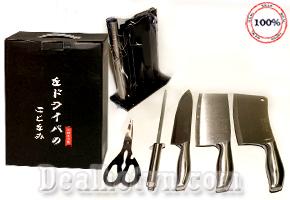 Bộ dao Inox 6 món cao cấp SEKI – hàng Nhật