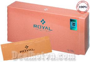 Serum Nhau Thai Cuống Rốn Royal Large Aesthetic Pursuit From Bare Skin hàng Nhật Bản giúp phục hồi làn da bị hư tổn, xóa nhăn, làm trắng mịn, mềm mại. Giá 4.000đ