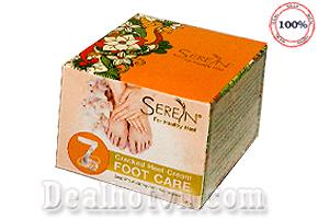 Kem bôi dưỡng da chân trị nứt gót chân Seren -Thái Lan