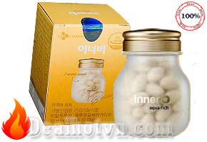 Viên uống Innerb Aqua Rich 70 viên chính hãng Hàn Quốc giúp cấp nước và bổ sung collagen cho da. Giúp da luôn căng bóng hồng hào. Giá 610.000đ