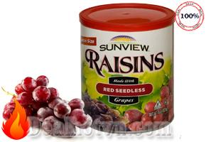 Nho khô Sunview Raisins (425g) – hàng nhập Mỹ