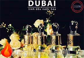 Nước hoa tinh dầu Dubai chính hãng