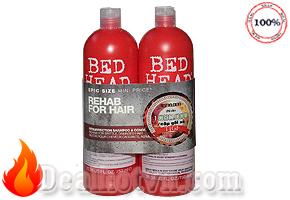 Bộ Dầu Gội và Xả Phục Hồi Tóc Tigi Bed Head Urban Antidotes Resurrection 750ml/chai - Chính hãng. Giá 180,000đ/ cặp
