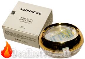 Mặt nạ Collagen tươi Soonacos Hàn Quốc