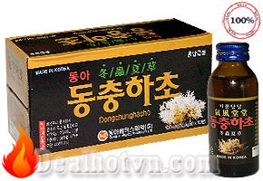 Combo 10 Chai Nước Đông Trùng Hạ Thảo Hàn Quốc 100ml
