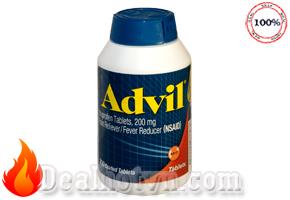 Thuốc giảm đau hạ sốt Advil 300 viên - Mỹ
