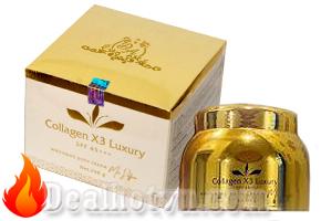 Kem Body trắng da Collagen X3 Luxury mẫu mới