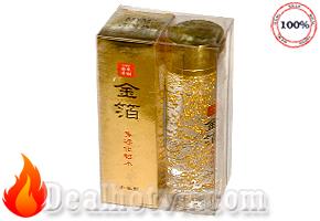 MYM Gold Lotion Dưỡng da Vẩy vàng của Nhật 120ml - Lotion giúp nâng cơ sang chảnh từ vàng
