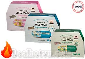 Hộp 10 miếng Mặt Nạ Trắng Da thiết Banobagi Vita Genic Jelly Mask