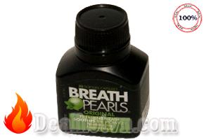 Viên uống ngậm thơm miệng Breath Pearls – Úc