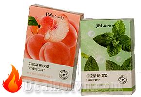 Xịt thơm miệng hương bạc hà, hương đào cho hơi thở thơm mát dùng cho 4 mùa xuân hạ thu đông JMSOBRIETY 20ml giá còn 60.000đ