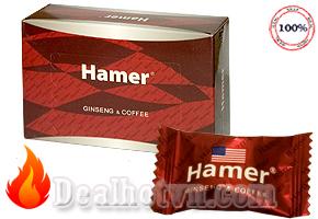 Kẹo sâm Hamer Mỹ (mẫu mới) giúp tăng cường sinh lý nam – nữ