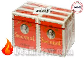 Combo 12 chai dầu gió Thái Lan hiệu Siang pure oil (7cc/chai) giải tỏa triệu chứng nhức đầu, chóng mặt, đau lưng, thấp khớp, bong trật gân....Giá 230.000đ.
